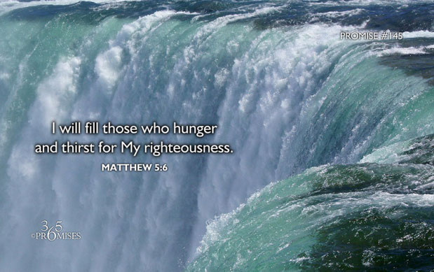 I Will Fill Those Who Hunger
