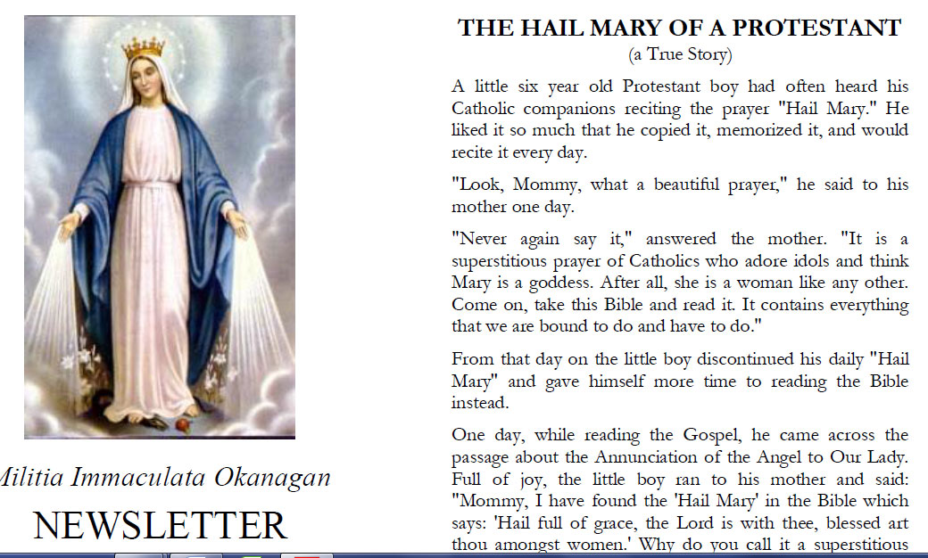 Letter From Father Sebastian
